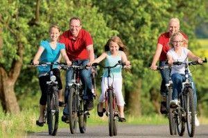Rodzinne wycieczki rowerowe